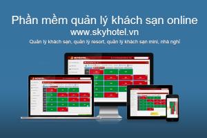 Phần mềm quản lý khách sạn Skyhotel