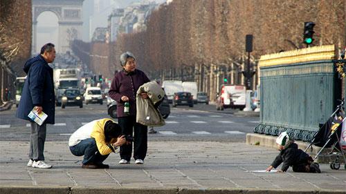 Dân Paris học cách quyến rũ du khách TQ, Tin tức trong ngày, du khach Trung Quoc, thu do nuoc Phap, paris, du lich, khach san, cam nang, giao tiep, huong dan, trung quoc, tin hot, tin nong, tin nhanh, vn