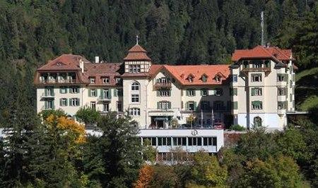 SSTH trường quản lý khách sạn ở Passugg, đây cũng từng là một khách sạn nghỉ du lịch nghỉ dưỡng, thư giãn.