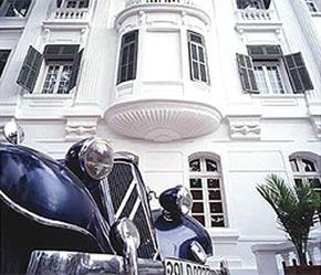 Một góc Khách sạn Sofitel Metropole tại Hà Nội. Mức độ ăn nên làm ra của các khách sạn tỷ lệ thuận với số phòng và số sao.