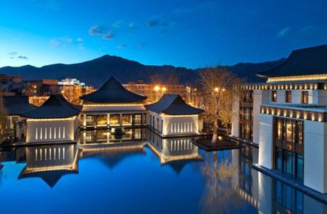 Khách sạn Kasbah Tamadot, trên dãy núi Atlas,