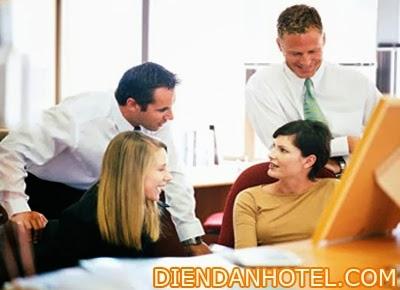Mô hình bố trí nhân sự trong khách sạn
