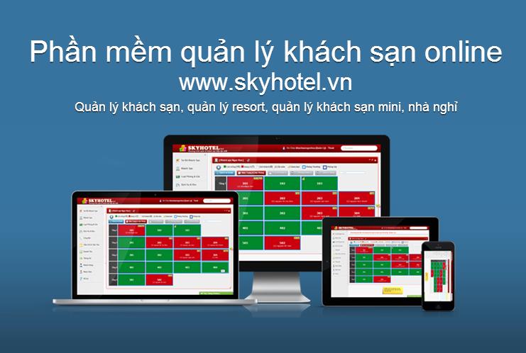 Phần mềm quản lý khách sạn Skyhotel.vn