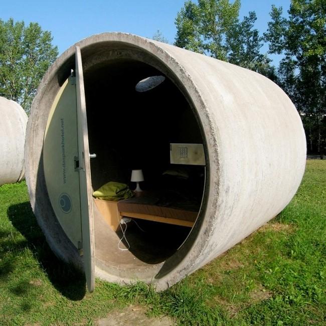 khách sạn nhỏ nhất thế giới