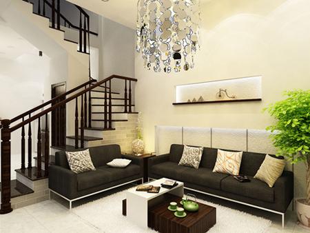 phong thủy phòng khách, nội thất, xây dựng