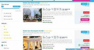 khách sạn 5 sao bậc nhất Hà Nội chỉ 1 triệu