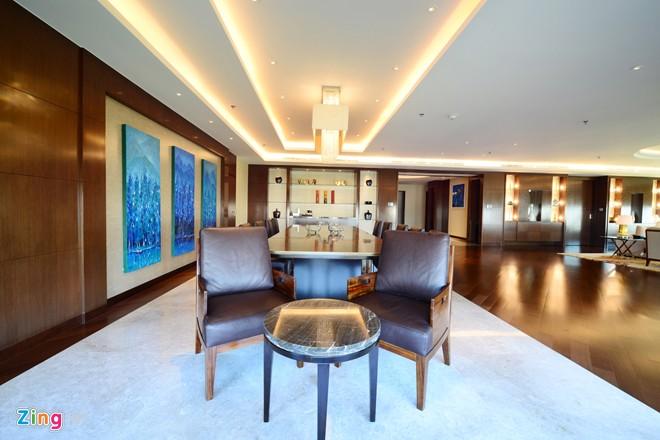 Phòng tổng thống 140 triệu đồng/đêm tại khách sạn con rồng