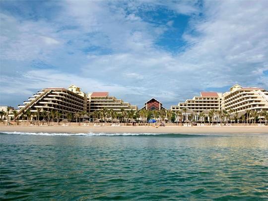 Khách sạn Crowne Plaza, Đà Nẵng - nơi có sòng bạc nổi tiếng với lượng khách chủ yếu từ Trung Quốc, trong 2 tháng qua, công suất thuê phòng giảm hơn 20%.