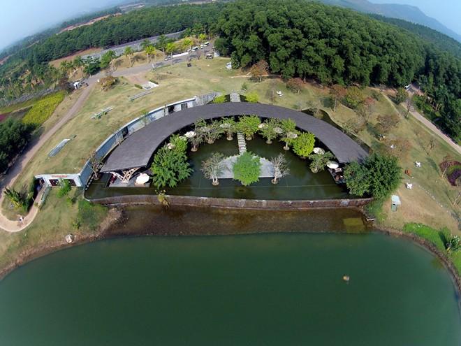 Resort Việt Nam đẹp thứ 7 hành tinh nhìn từ flycam