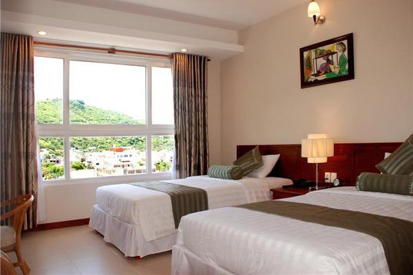 Công suất thuê phòng khách sạn tại Hà Nội tăng 6,8%. Ảnh: TL.