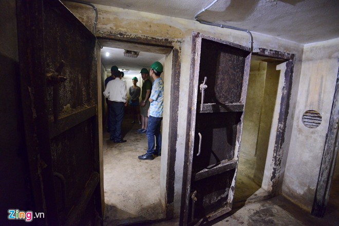 Hầm trú bom bên trong khách sạn Metropole Hà Nội