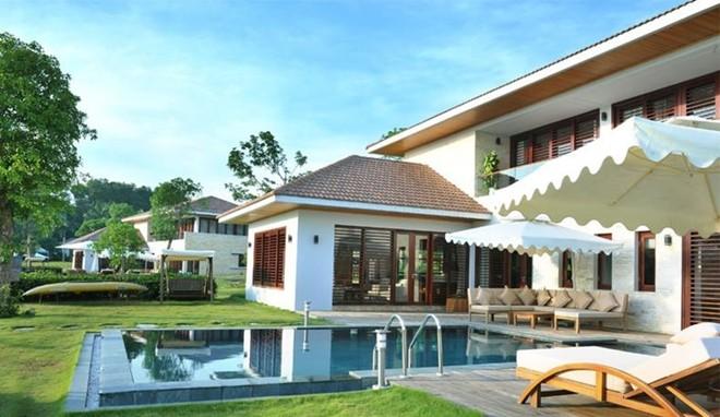 Khu nghỉ dưỡng Flamingo Đại Lải (Vĩnh Phúc): Resort tuyệt đẹp này được tạp chí điện tử nổi tiếng thế giới về kiến trúc và thiết kế Designboom đưa vào danh sách 10 công trình khách sạn và nghỉ dưỡng đẹp nhất thế giới. Ảnh: Flamingo Đại Lải.