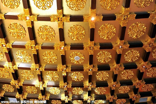 Cận cảnh khách sạn 74 tầng dát vàng ở TQ - 8