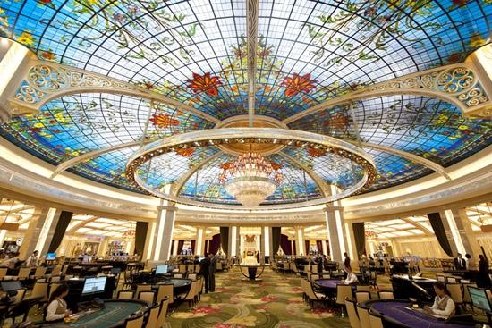 Bên trong khách sạn sòng bài bậc nhất Macau