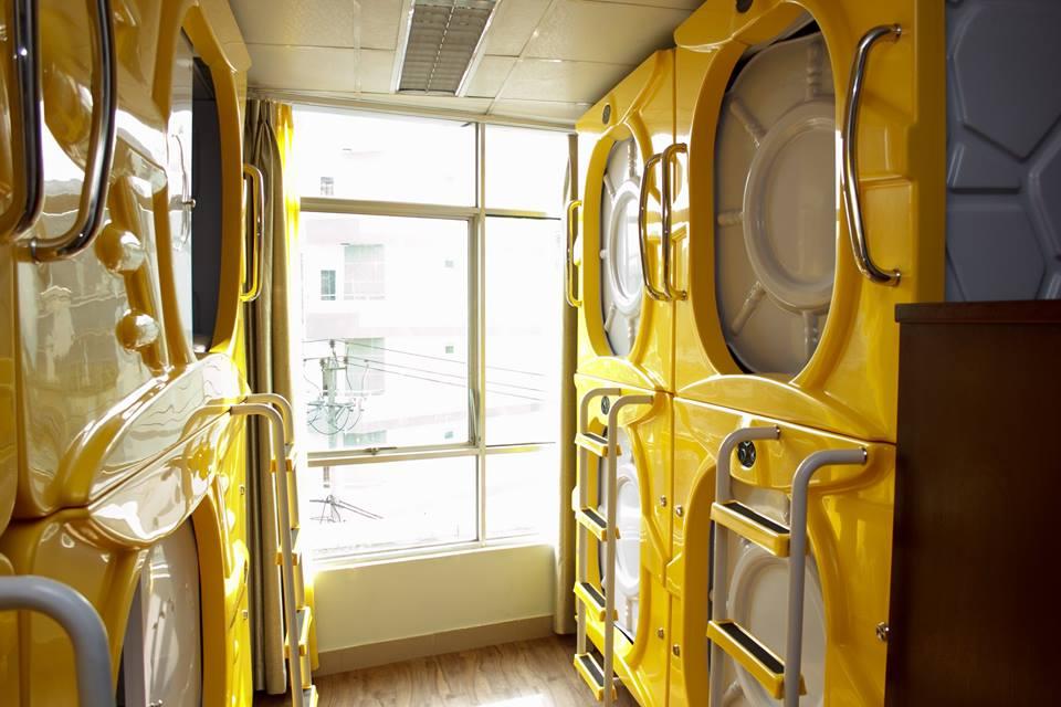 Khách sạn kiểu con nhộng ra mắt ở Nha Trang