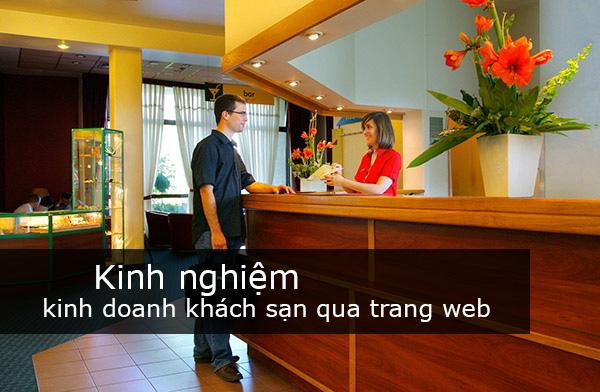Kinh nghiệm kinh doanh khách sạn từ trang web