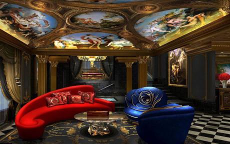 Nội thất khách sạn xa hoa bậc nhất thế giới