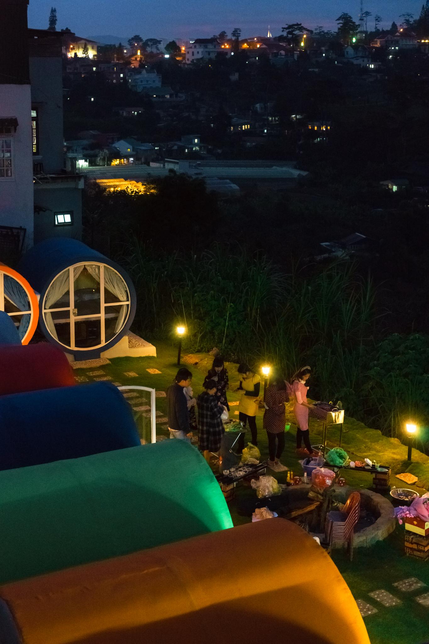 The Circle Vietnam, Đà Lạt, hostel, view đẹp, độc nhất, không gian, du lịch bụi