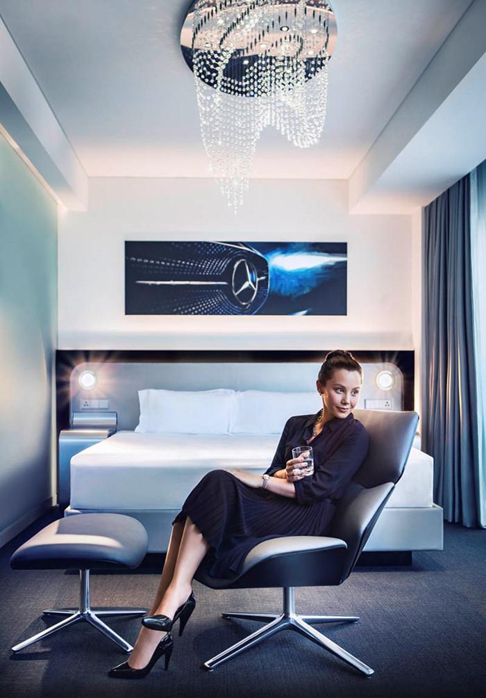 7 triệu đồng qua đêm ở phòng ngủ kiểu Mercedes tại Singapore - ảnh 11