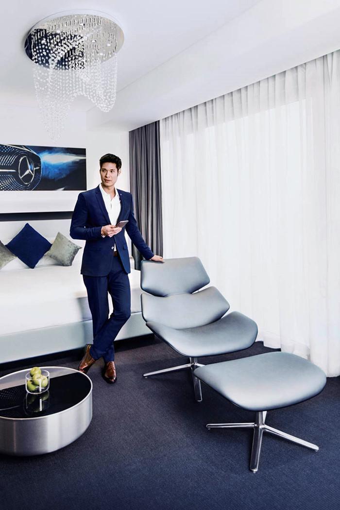 7 triệu đồng qua đêm ở phòng ngủ kiểu Mercedes tại Singapore - ảnh 12
