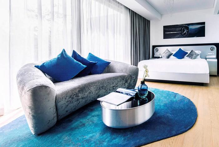 7 triệu đồng qua đêm ở phòng ngủ kiểu Mercedes tại Singapore - ảnh 1