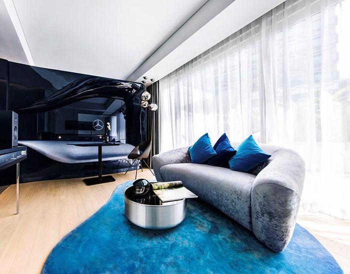 7 triệu đồng qua đêm ở phòng ngủ kiểu Mercedes tại Singapore - ảnh 3