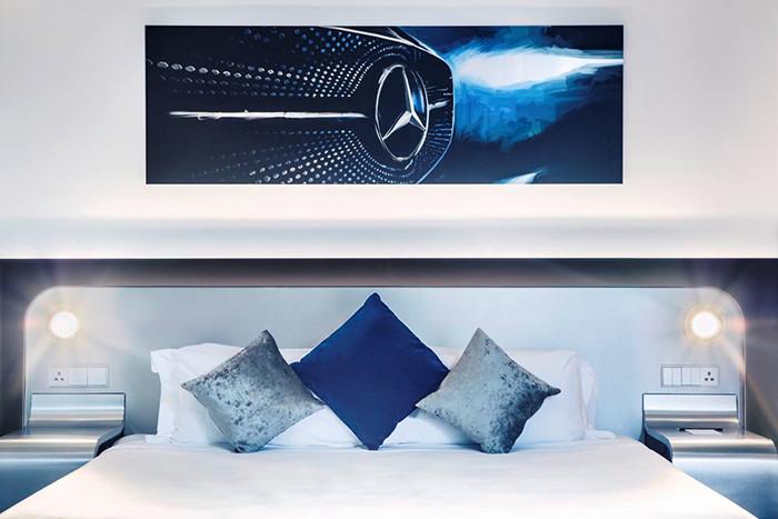 7 triệu đồng qua đêm ở phòng ngủ kiểu Mercedes tại Singapore - ảnh 7
