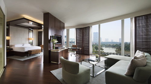 Cận cảnh phòng Tổng thống khách sạn dành cho ông Obama khi ở Hà Nội - ảnh 11