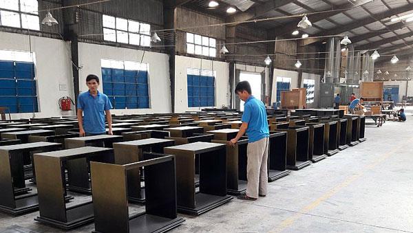 Nơi sản xuất nội thất cho khách sạn ở Bình Dương
