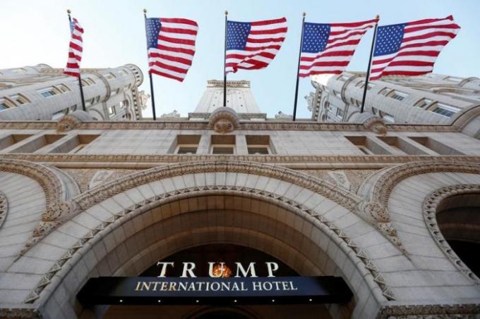 Khách sạn Quốc tế Trump. (Ảnh: Reuters)