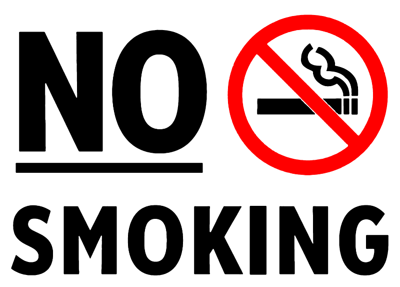 Biển cấm hút thuốc lá trong khách sạn