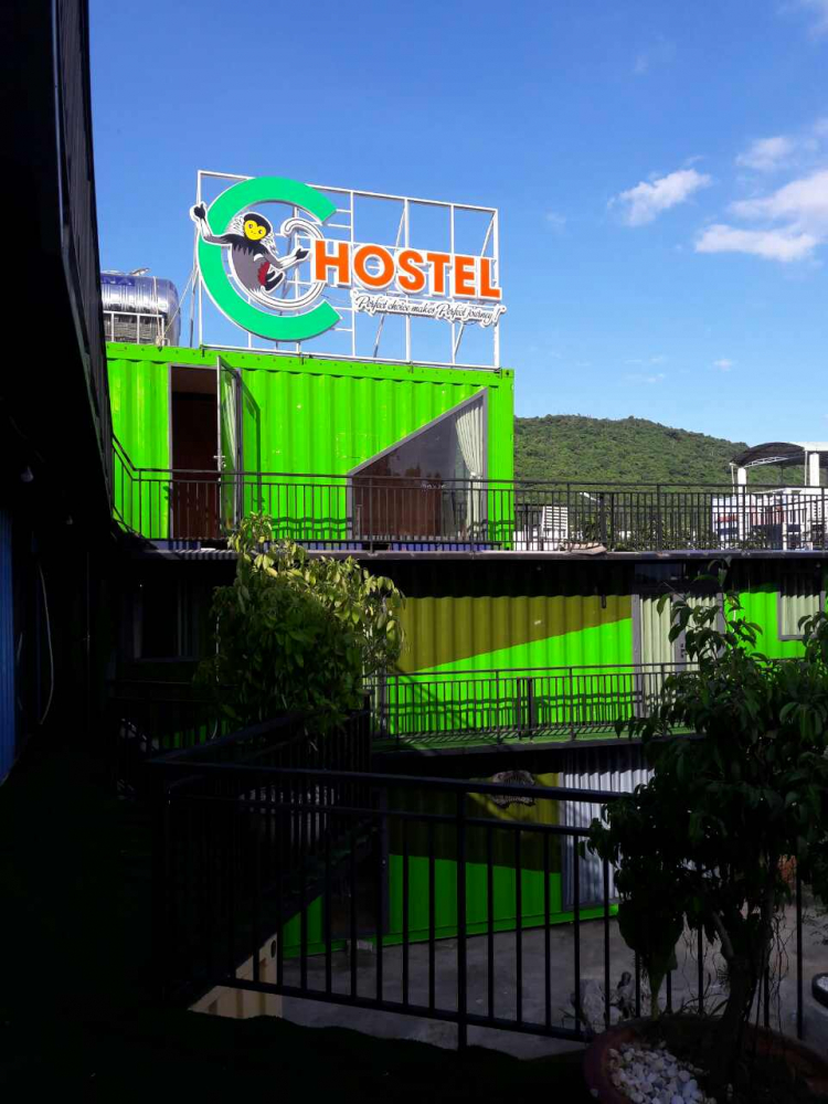 C-hostel from high