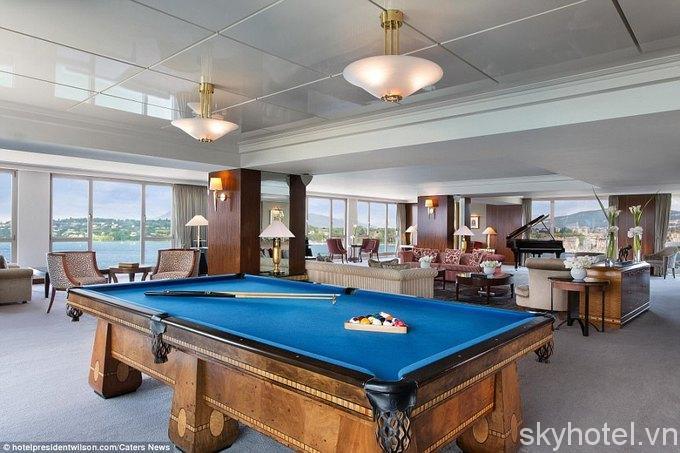 Bên trong phòng khách sạn đắt nhất thế giới