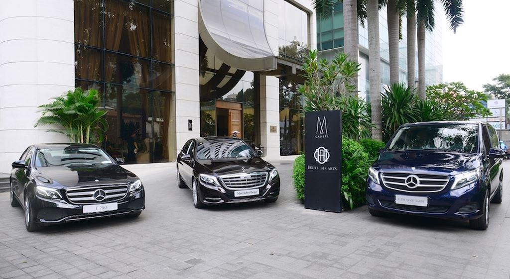 Khách sạn 5 sao giữa lòng Sài Gòn đầu tư phương tiện vận chuyển bằng Mercedes-Benz ảnh 1