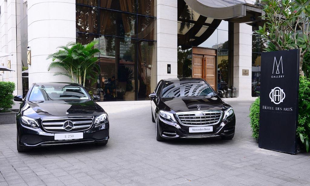 Khách sạn 5 sao giữa lòng Sài Gòn đầu tư phương tiện vận chuyển bằng Mercedes-Benz ảnh 3