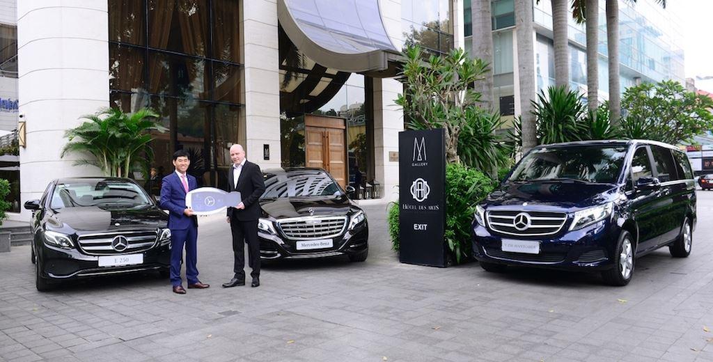 Khách sạn 5 sao giữa lòng Sài Gòn đầu tư phương tiện vận chuyển bằng Mercedes-Benz ảnh 2