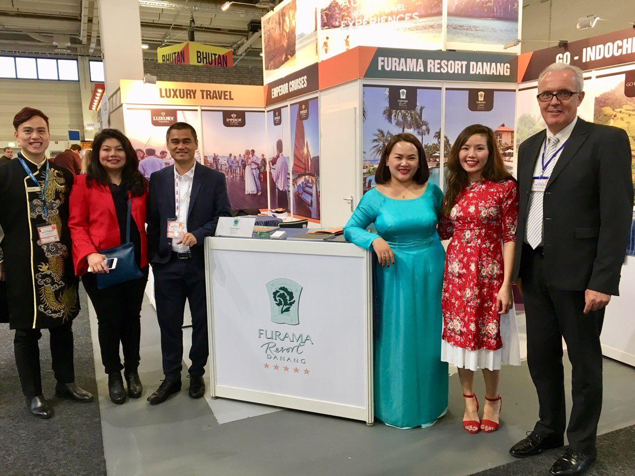 Furama Đà Nẵng quảng bá sản phẩm tại Hội chợ ITB Berlin