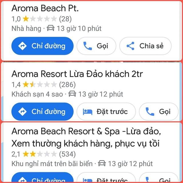 Hàng loạt khách sạn, resort tên na ná Aroma kêu oan vì bỗng bị kéo vào cơn bão tẩy chay của CĐM