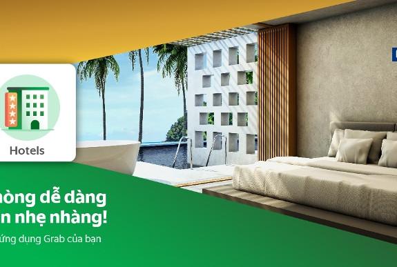 Khách hàng có thể đặt phòng khách sạn trên Agoda và sắp tới trên Booking.com trực tiếp trên ứng dụng Grab.