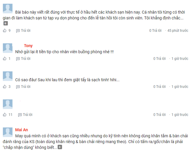 """Du luan day song voi hinh anh NV khach san """"dung khan tam lau bon cau""""-Hinh-4"""