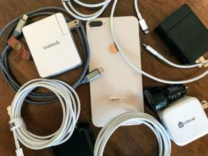 Khách sạn luôn trữ sẵn các loại sạc pin điện thoại.