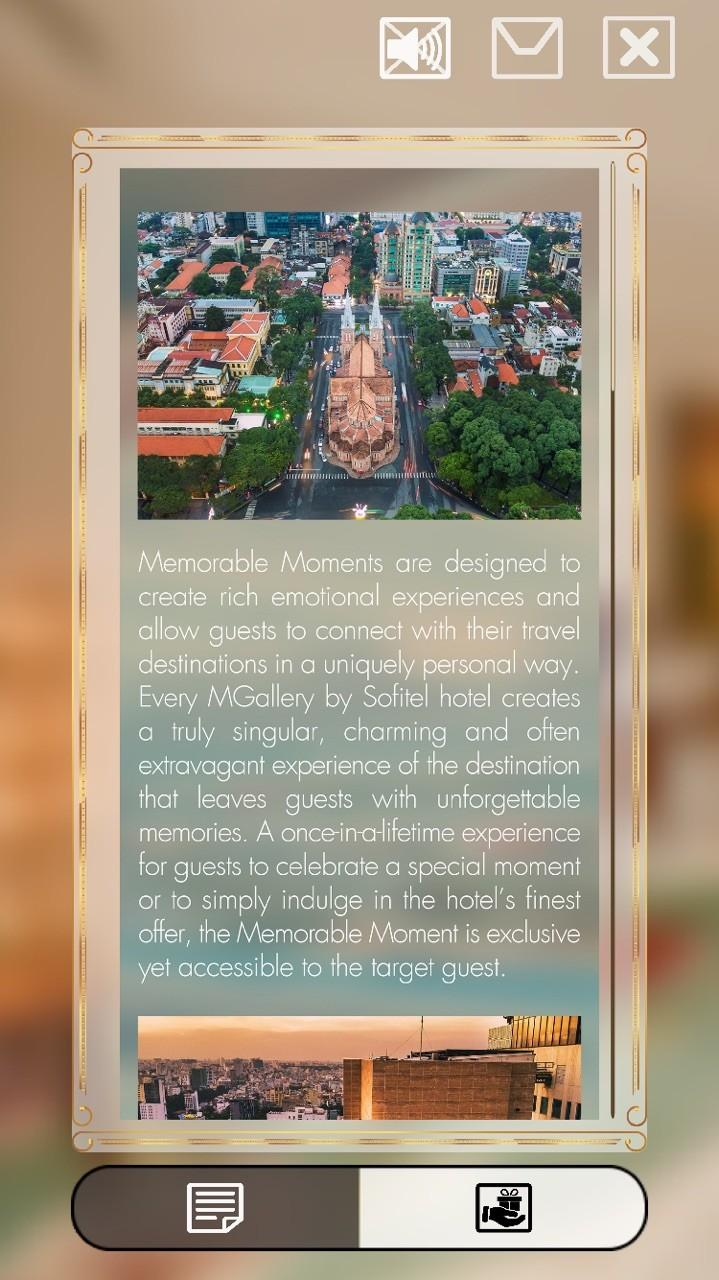 Ứng dụng thực tế ảo tăng cường giúp du khách khám phá bên trong các khách sạn dễ dàng hơn