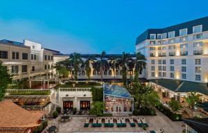 Khách sạn Sofitel Legend Metropole Hanoi. (Ảnh: CTV/Vietnam+)