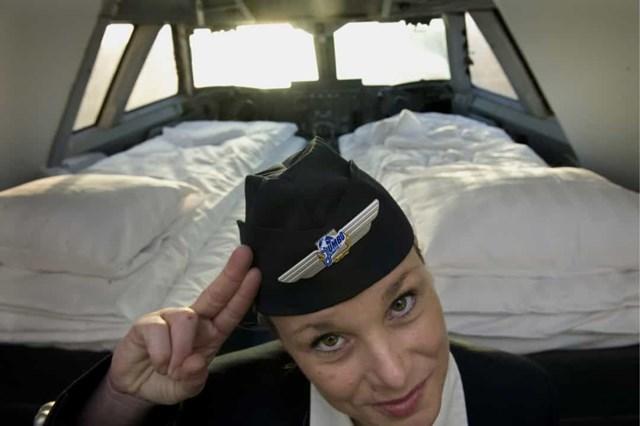 Jumbo Hostel, Thụy Điển nằm trên một chiếc máy bay phản lực Boeing 747 cũ, khách sạn kỳ quặc này tọa lạc ngay cạnh Sân bay Stockholm Arlanda. Phòng