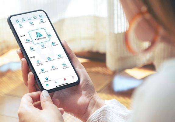 Tiện ích đặt phòng khách sạn trên ứng dụng ngân hàng mang lại nhiều trải nghiệm mới mẻ cho người dùng