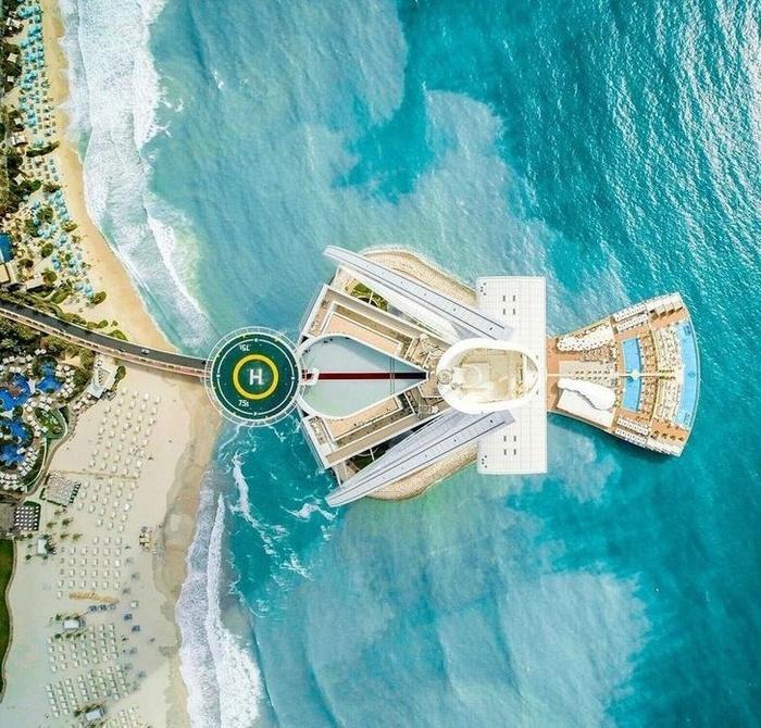 Hóa ra khách sạn 7 sao ở Dubai lại có những đặc điểm khiến ai cũng trầm trồ kinh ngạc