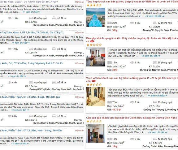 mua bán khách sạn